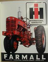 FARMALL Tractor Tin Signs - NEW