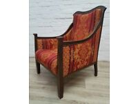 Edwardian Fireside Chair (DELIVERY AVAILABLE FOR THIS ITEM OF FURNITURE)