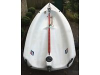 Topper Taz Sailing Dinghy - Excellent Condition