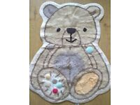 Mothercare Teddy bear Rug £15