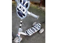 Zebra Scooter for Sale