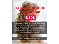 HAIRSTYLING COURSE TRAINING WORKSHOP 1 DAY - Hair
