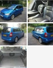 REDUCED!!! Vauxhall zafira gsi **rare** full leather dvd player must see!