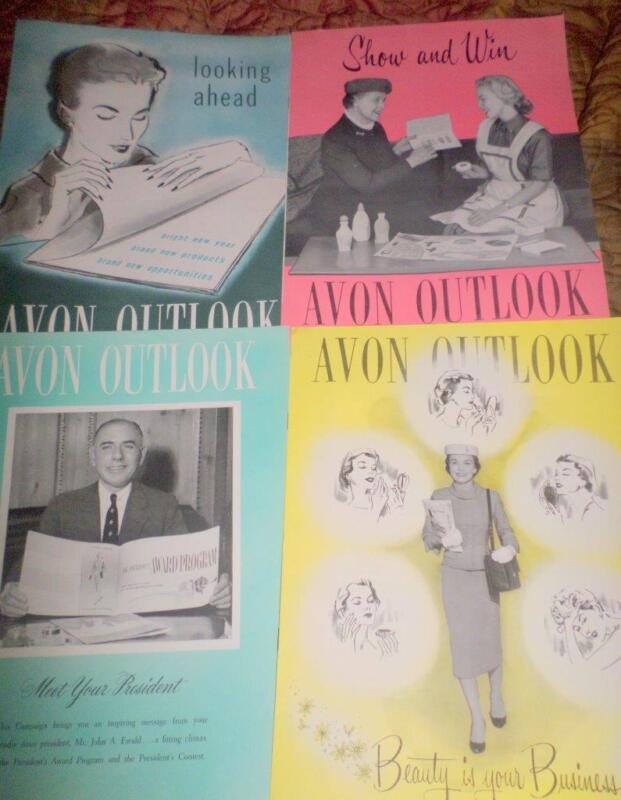 Avon Outlook Magazines in the Year 1957 16 Magazines Ephemera Scrapbooking