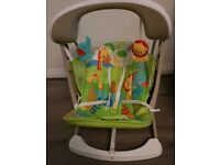 Rainforest Friends Take-Along Swing and Seat