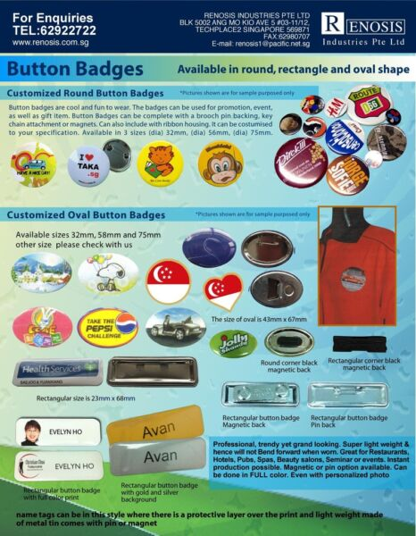 91817766 Button Badges Instant supply ang Mo kio CHEAP FAST
