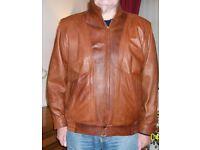 Leather Jacket & Anorak