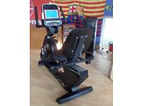 Sole Fitness R92 Recumbent Upright Exercise Bike Monitor Heart Beat Fat Burning Manual RRP £1200