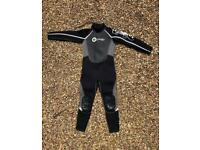 Kids Osprey OSX Series Wetsuit - Size Medium short - see photo for sizing guide