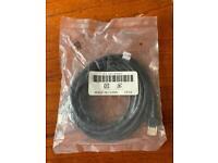 Cat 5 High Speed Gigabit Ethernet RJ45 Network LAN Cable Black 1.8m New Unused