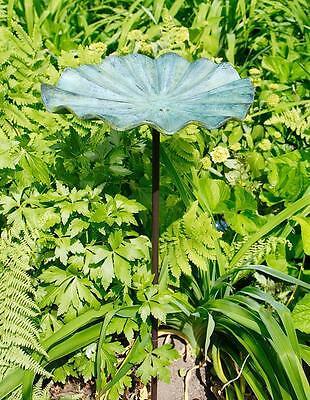 Achla Small Lily Leaf II Birdbath with Stand LBB-02-S