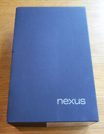 Nexus 7 Android tablet 32Gb in perfect condition with original packaging
