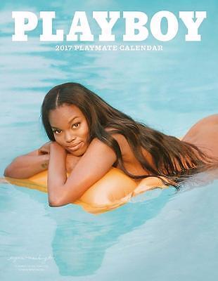 Playboy   2017 Playmate Wall Calendar   11  X 14    Free Shipping