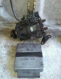 Ford transit diesel fuel injection pump, 114/125 horsepower, 2003 to 2006
