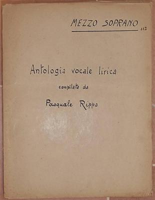 PASQUALE RIPPA ANTOLOGIA VOCALE LIRICA MEZZO SOPRANO LYRIC MUSIC AUBER BELLINI