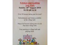 Hugh Sale Trail / Yard Sale Event in Felsham Sunday 28th August 2016