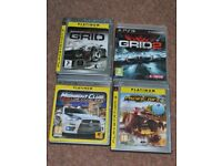 SONY PLAYSTATION GAMES PS3 SET2