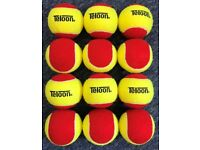 Mini Tennis Stage 1 RED Tennis Balls 1 Dozen (12)