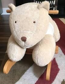 Mamas and papas rocking horse dog teddy bear style Was originally £65 from argos grab a bargain