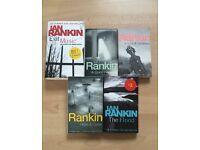 Ian Rankin Books x5