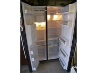 Bosch American Style Fridge Freezer KAN58A55GB, 510L, No Frost, Ice & Water Dispenser