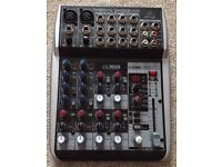 Benringer Xenyx QX1002 USB Mixer = better than Excellent condition + fully boxed