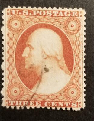 US Scott 26 3c George Washington Used Stamp G1617