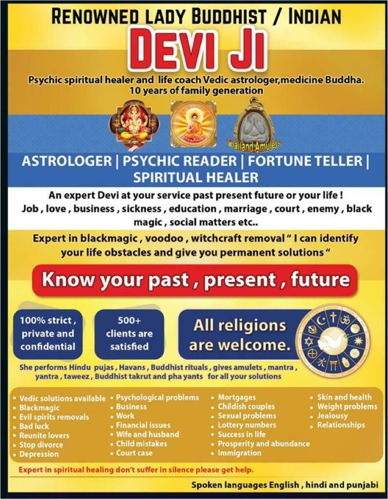 Lady Devi ji , life coach , Buddha medicine , spiritual healer and