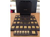 Brand new and unused. 35 4ml Tom Ford private blend fragrance samples. Boxed.