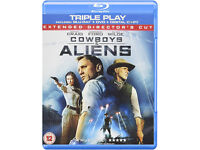 Cowboys & Aliens on Blu-ray
