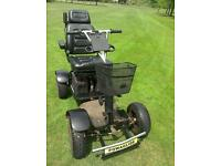 Golf buggy Powaglide single seat electric golf cart working PG-02 charger Inc £595 ono
