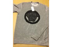 Brand New With Tags Men's Versace Grey Suade Jumpers £25 Each