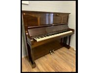 Alison of London upright piano walnut case |Belfast Pianos|free Delivery