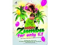 £1 Zumba