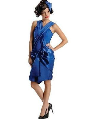 SECRET WISHES $89 Sexy MOB WIFE BLUE HALLOWEEN COSTUME / OUTFIT / DRESS M NWT - Mob Wife Halloween Costume