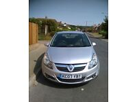 2007 VAUXHALL CORSA SXI VERY GOOD CONDITION ONE YEAR MOT WITH HPI REPORT DRIVES PERFECT NO FAULTS