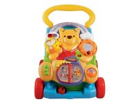 Vtech Baby Winnie the Pooh 2-in-1 Walker (cost £59 new)