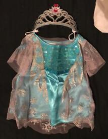 Elsa build a bear dress and tiara