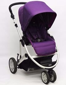 Mamas & Papas Zoom 2 in 1 Travel System - Purple