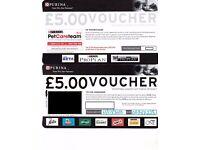 Purina pet food voucher worth £50 (Bargain!)