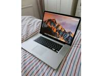 """MacBook Pro 17"""" i7 2.4ghz with SSD"""