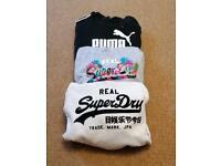 Superdry Hoodies and Puma hoodie
