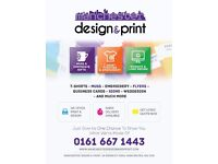 TShirt Printing, Business Cards, Banners, Flyers, Web Design & More - Manchester Based, Great Prices