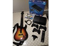 PS3 Super Slim 320GB (Boxed) with accessories and 17 games