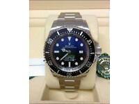 Rolex Deep Sea Deweller£100 Swiss ETA movement Yatch master AAA