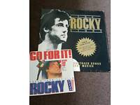 Rocky story 12 inch vinyl and Go for it 7 inch vinyl