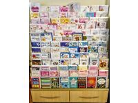Greetings card stand
