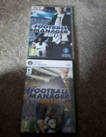 Football Manager PC games