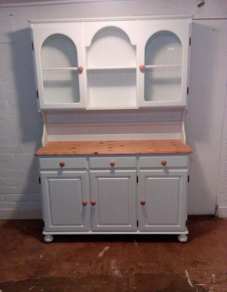 Ducal Solid Pine Welsh Dresser Sideboard Kitchen Cupboard