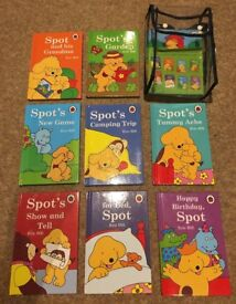 9 x Spot Books in a Clear Backpack